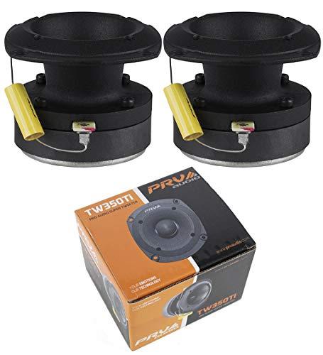 1 Pair PRV Audio TW350Ti Titanium Bullet Pro or Car Super Tweeter 240W...
