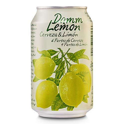 Damm Lemon - helles Bier mit Zitrone - 1 x 0,33 l