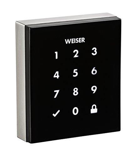 Weiser Obsidian Keyless Touchscreen Electronic Deadbolt
