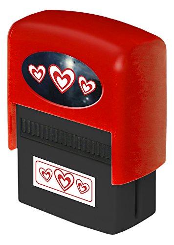 La Carterie corazones–sello automático personalizado