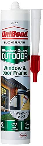 Unibond 2078170esterni per finestra e porta telaio sigillante–bianco