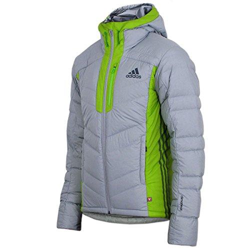 adidas Herren Terrex Outdoor Jacke Climaheat Ice Jacket (46, grau-grün)