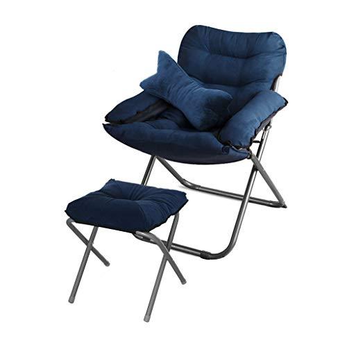 Chaise Pliante-canapé Chaise Multifonction Chaise Longue Multifonction Salon Chaise Pliante dortoir Balcon Ordinateur Chaise Confortable (Couleur : F)