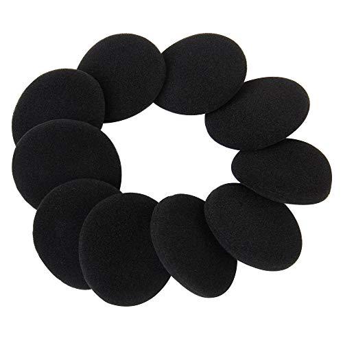 Haobase - Cuscinetti di ricambio per auricolari, diametro 5 cm, 5 paia