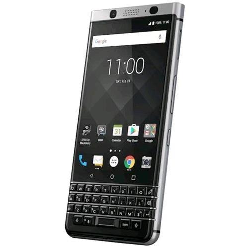 Blackberry Keyone Smartphone, Marchio Tim, 32 GB, Nero Argento [Italia]