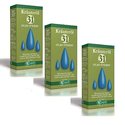 Olio 31 Krauterol 3 Confezioni da 100ml Sangalli