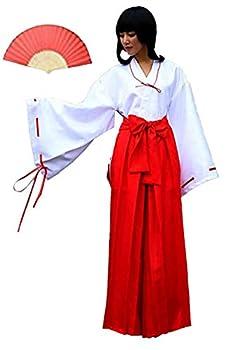 Fuji Hero Simplified Kikyo Style Japanese Miko Cosplay  M
