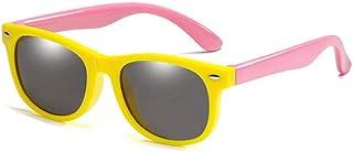 NIUASH - Gafas de Sol polarizadas Niños Gafas de Sol polarizadas Niños Niños Niñas Gafas Seguridad Infantil Gafas de Sol UV400 N