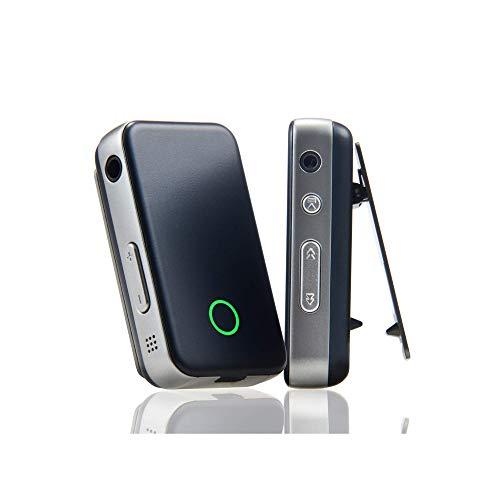 EarStudio ES100 MK2 24bitポータブル高解像度Bluetoothレシーバ/ヘッドフォンアンプ/DAC、AAC、aptX、aptX HD 黒