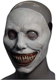 Halloween Spaventoso Copricapo Creepy Sorridente Demoni Copricapo Evil Spaventoso Clown Cosplay Horror Zombie Costume Prop...