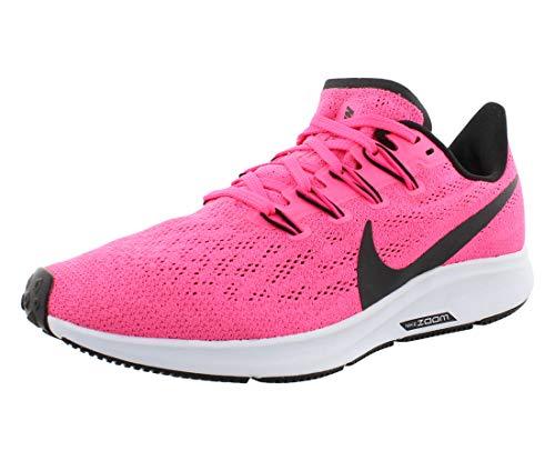 Nike Women's Air Zoom Pegasus 36 Running Shoe Hyper Pink/Half Blue/Black 8.5 M US