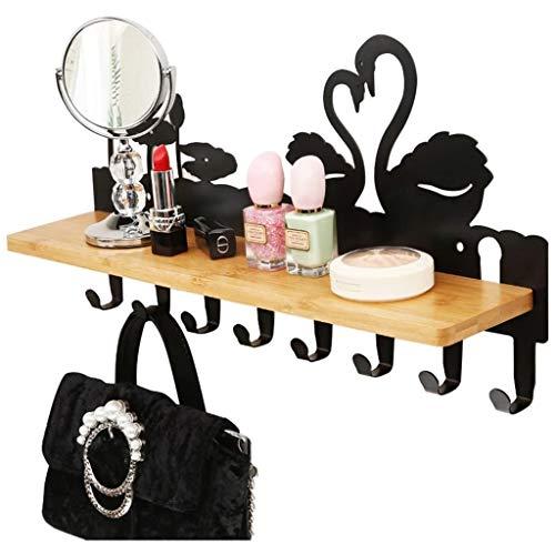 XXCC Wandbehang, deurhaak, wasdroger, woonkamer, led, hanger, met rek, slaapkamer, wasbeugel, deur-hoed, kleding, home Storage racks wasrek