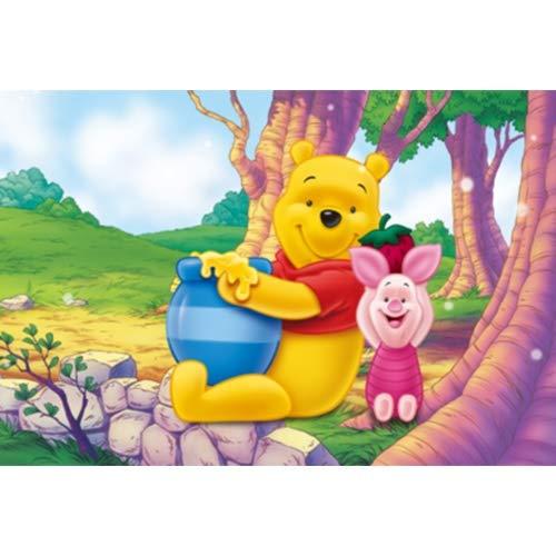NO BRAND Winnie The Pooh y Animación Juguetes 300/500/1000/1500 Pieza del Rompecabezas de Madera de Tigger niños p225 (Size : 1000pc)