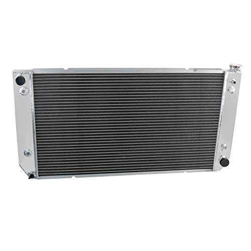 OzCoolingParts 3 Row Core All Aluminum Radiator for 1994-2000 95 96 97 98 99 Chevrolet C/K Series Pickup C2500 C3500 K2500 K3500, 1994-1999 Chevy Suburban 7.4L V8 Engine