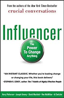 Influencer: The Power to Change Anything (007148499X) | Amazon price tracker / tracking, Amazon price history charts, Amazon price watches, Amazon price drop alerts