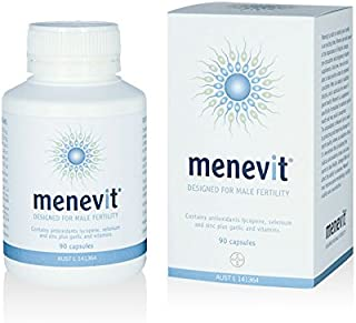 Menevit Vitamins Minerals 90 Capsules Pharmacy Medicine Import from Australia