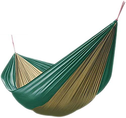 YSCYLY Hangmat Enkel Dubbele Camping Draagbaar, Enkele Parachute Hangmat 230 * 85cm,Nylon Hangmat Swing