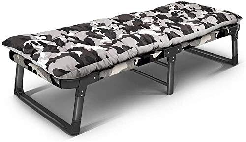 WANGCAI Lounge Chair Reclining Außenklappstühle Falzbogen Menschen Nap Bed Office Home Bett Bett Einfache Multi-Funktions-Bett (Color : D)
