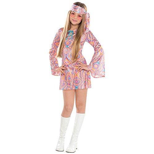 Amscan 842845 Disco Diva Costume, Children Large Size, 1 Piece