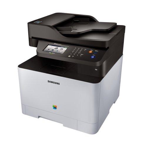 Samsung SL-C1860FW/SEE - Impresora con Laser multifunción (9600 x 600 dpi) Color Blanco