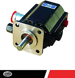 "CHIEF Two Stage Pump: 4 Bolt Flange Mount, 13 GPM, 3000 PSI, 4000 Max RPM, 7 HP Input, 1'' Tube Inlet and 1/2"" NPT Port Size, 1/2 x 1 1/2 Shaft, CW Rotation, 250093"