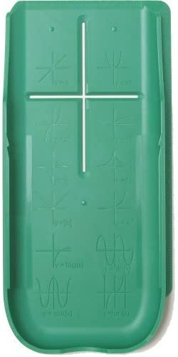 EZ Graphing Green Hard Slide Cover (See Description for Details) for TI 84 Plus, TI 84 Plus C Silver Edition, TI 89 T...