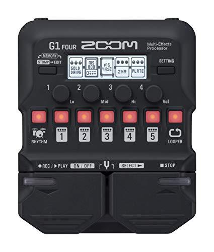 Zoom G1 FOUR Multieffektpedal für Gitarre