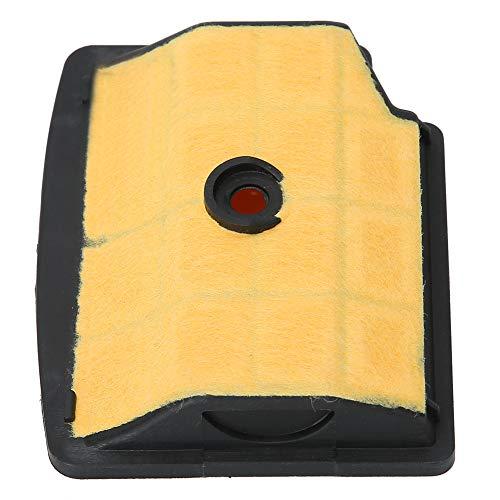 Piezas de repuesto Filtro de aire duradero, filtro de aire de motosierra de plástico + tela de malla, apto para MS200T Proteger ramas mecánicas de máquinas de jardín