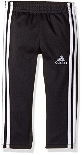 adidas Boys' Big Tapered Trainer Pant, Black, Large