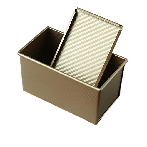 Bakeware Loaf Pan with Lid Loaf Tin Bread Mold Baking Toast Pan for Barking Breads Cakes Baking Bread Pan