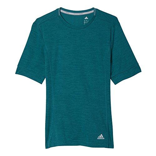 adidas T-Shirt SN S/S W Camiseta-Mujer, Turquesa (Eqtver), S