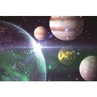 ジグソーパズル1000ピース大人,宇宙宇宙惑星月木製パズル,チャレンジ難しいゲームおもちゃ,装飾壁画,子供向けクリエイティブギフト,006