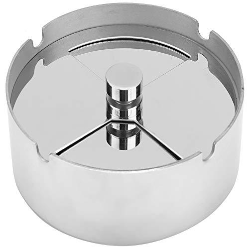 SALUTUY Cenicero, Cenicero Giratorio Redondo De 10x4 Cm Resistente Al Desgaste para Oficina En Casa, Hotel, Bar, Inodoro, Entretenimiento De Ocio