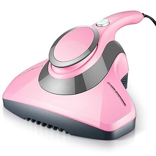 Aspiradora de Mano UV del Aspirador Anti-ácaros, Elimina ácaros, chinches y alérgenos for colchones, Almohadas, sofás de Tela y alfombras de Color Rosa (Color : Pink)