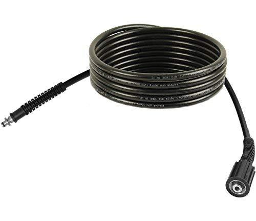 Hochdruckschlauch 5m, NW 6 x 1, 200 bar, 60 °C, Anschlüsse M22/ Stecknippel 10mm (Pistolenanschluss) für Hochdruckreiniger