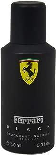 Ferrari Black Ferrari Deodorant Spray 5 oz Men