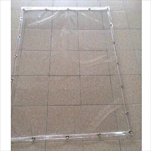 HAIPENG telo in PVC telone di copertura copertura tenda trasparente plastica impermeabile rinforzato...