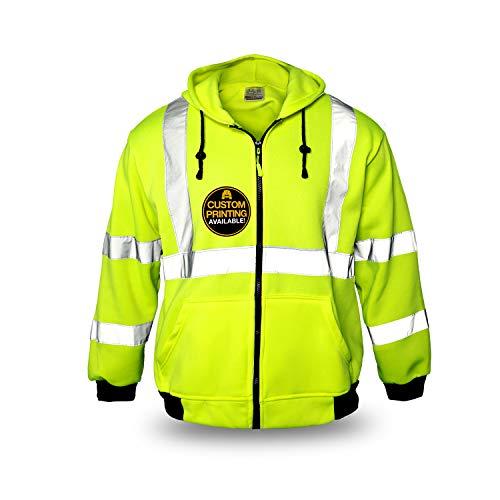 KwikSafety (Charlotte, NC) PATROL Safety Jacket (NO FUZZ Balls) Class...