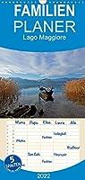 Lago Maggiore - Familienplaner hoch (Wandkalender 2022 , 21 cm x 45 cm, hoch): Fotografische Eindruecke vom Lago Maggiore, einem der oberitalienischen Seen (Monatskalender, 14 Seiten )
