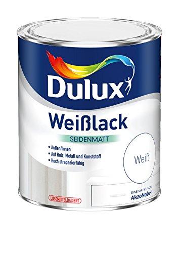 AKZO NOBEL (DIY DULUX) 5194771 Dulux Weisslack seidenmatt 0,375 L