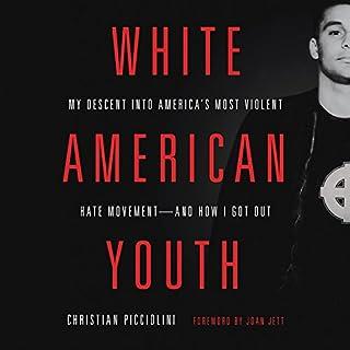 White American Youth     My Descent into America's Most Violent Hate Movement - and How I Got Out              Auteur(s):                                                                                                                                 Christian Picciolini                               Narrateur(s):                                                                                                                                 Joan Jett,                                                                                        Christian Picciolini                      Durée: 6 h et 47 min     8 évaluations     Au global 4,8