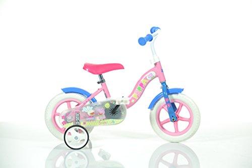 Dino Bikes 108 L-PIG - Peppa Pig Bicicletta, 10 Pollici