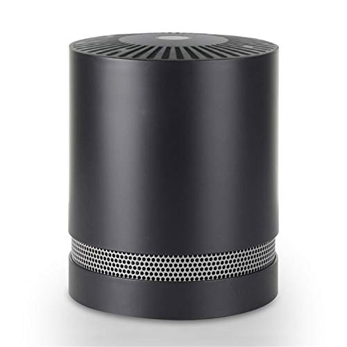 Air Purifiers with True Hepa Filters,Compact Desktop Purifiers Filtration with Night Light,no Ozone,Air Cleaner for Pets Dander,Cooking,Smokers,Dust,Black