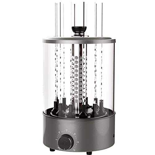 41zrsD2g5HL - WZHZJ Haushaltsrauchfreie Automatische Rotating Grillspieße, Lammspieße Grill/Barbecue-Maschine