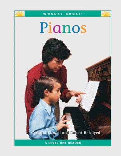Pianos (Nonfiction Readers: Level 1) (English Edition)