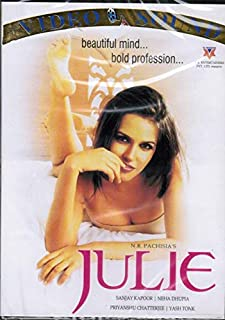 Julie (Brand New Single Disc Dvd, Hindi Language, With English Subtitles, Released By Video Sound)