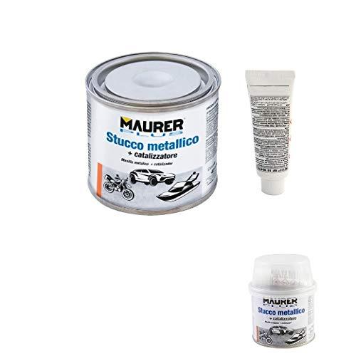 MAURER 14076000 Masilla Reparadora Metales 150 ml. con Endurecedor