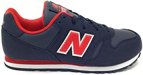 New Balance 373 Sneaker Navy-Red, Mehrfarbig - marineblau/rot - Größe: 39 EU