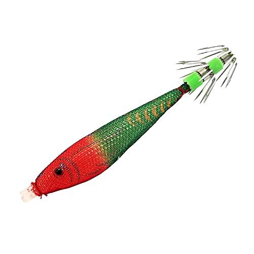 グローリーフィッシュ(Glory Fish) スッテ グミドロップ 9cm 赤緑 LU-074