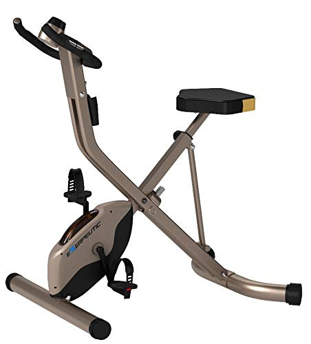 Product Image 8: Exerpeutic Gold Heavy Duty Foldable Exercise Bike with 400 lbs Weight Capacity